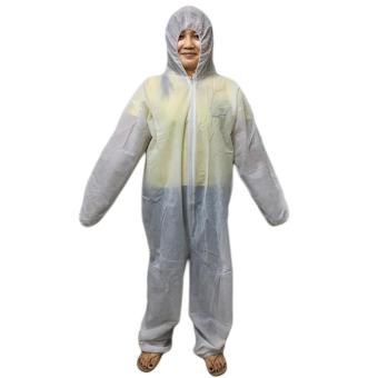 Meisons coverall working uniform disposable (medium)