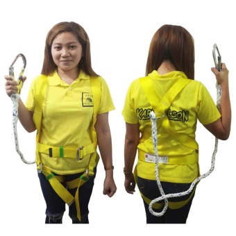 Meisons full body harness with 1.5meters rope lanyarn good quality Price Philippines