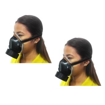 Meisons single chemical respirator gas mask (2pcs)