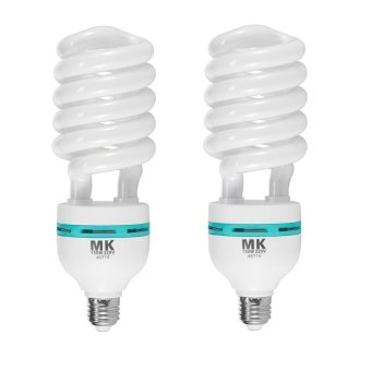 Meking 2 Pieces Studio 150W 5500K 220V Photo Daylight Lamp Bulb Energy Saving Bulb E27 CFL Lamps Price Philippines