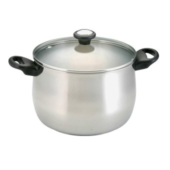 Meyer Stainless Steel Stock Pot with Glass Lid 24cm/8QT (70579) Price Philippines