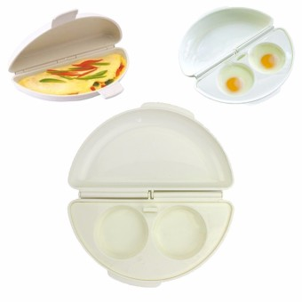 Microwave Omelet Mold Poach Cooking Cooker Pan Maker Egg Poacher Kitchen Tool - Intl