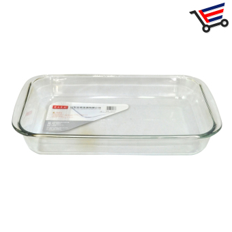 Microwaveable 1.5L Rectangular Tempered Glass Bakeware