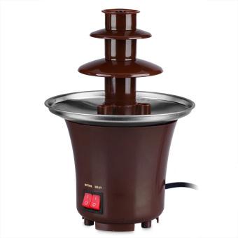 Mini Chocolate Fondue Fountain (Brown) - picture 2