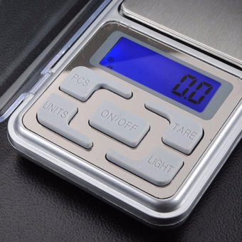 Mini Electronic Digital Jewelry Weighing Scale (Silver) - 2