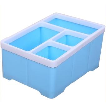 Buy Latest Mini Home Plastic Desktop Tool Storage Box Remote Control Box  Blue Price In Philippines December 2017