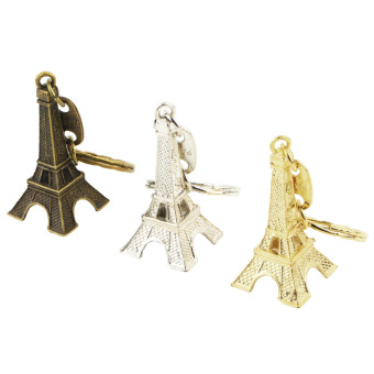 Mini Paris Eiffel Tower Keychain (Multicolor)