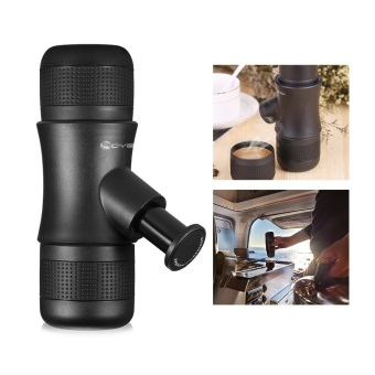 Mini Portable Manual Espresso Coffee Maker - intl