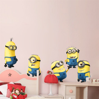 Minions Despicable Me Removable Wall stickers Decal Kids (Intl)