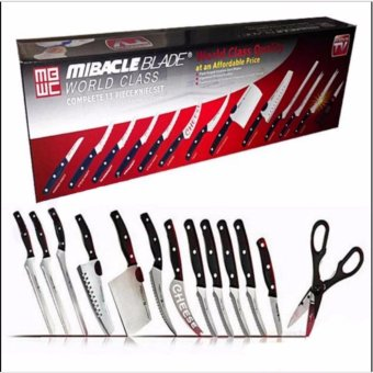 Miracle Blade Complete 13-Piece Knife Set World Class