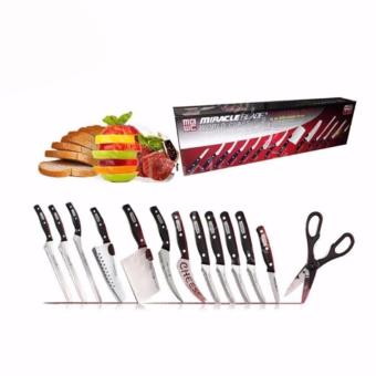 MIRACLE BLADE WORLD CLASS COMPLETE 13-PIECES KNIFE SET
