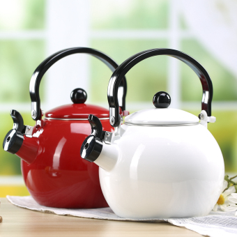 Miscellaneous celebrity inspired enamel whistling kettle ball maker