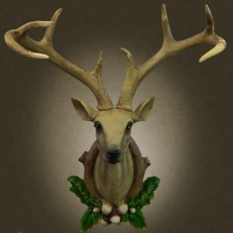 Model wall hangers wall hangings animal THE DEER HEAD