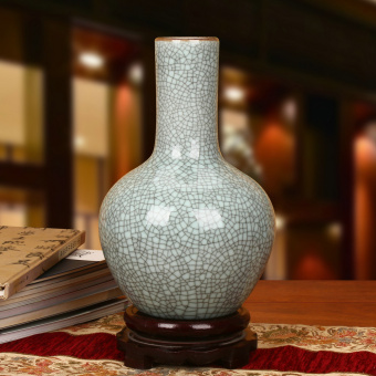 Modern Chinese old-style kiln ceramic porcelain
