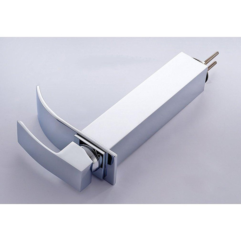 Philippines | Modern Counter Top Waterfall Bathroom Sink Faucet Tall ...
