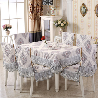 Modern Garden rectangular European tablecloth chair cover
