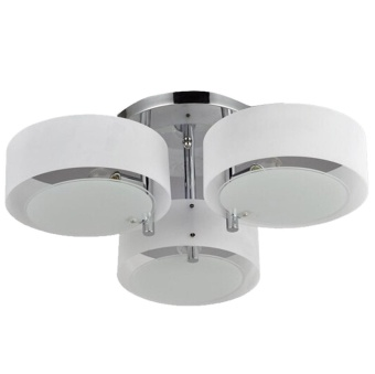 Modern Minimalist Circular Acrylic Led Ceiling Light Living RoomBedroom Dining Room Lights - intl Price Philippines