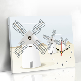 Modern Wall Clock table wall painting restaurant Decorative Painting