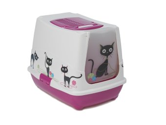 Moderna Trendy Cat Funny Cat Fuchsia Price Philippines