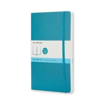 Moleskine Classic Soft Covered Dotted Large Notebook (UnderwaterBlue)