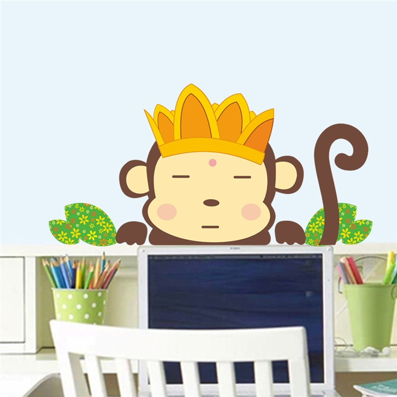 Philippines | Monkeys wall stickers for kids rooms wall decals ...