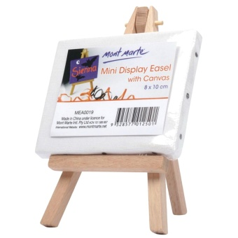 Mont Marte Mini Canvas and Easel Set 15mm. Price Philippines