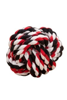Moonar Pet Dog Cat Entertainment Rolling Cotton Rope Play Ball