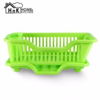 MorganStar Kitchen Dish Sink Drainer Drying Rack Wash Holder BasketOrganizer Tray