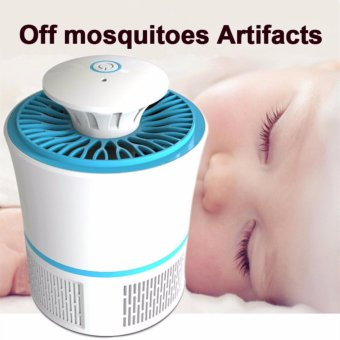 Mosquitoes Killing Device LED Photocatalysis Electronic MosquitoKiller Lamp Insect Trap Bug Repellent Lamps - intl Price Philippines