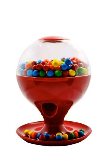 Motion-Activated Candy Dispenser (Red)