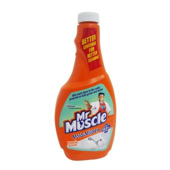 Mr. Muscle Mold & Mild Floaming Bleach 500ml (Orange) 072124W38 Price Philippines