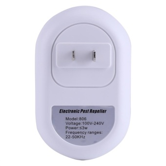 Multi-function Ultrasonic Household Pest Control ElectronicMosquito Insects Repeller- US Plug - intl - 5