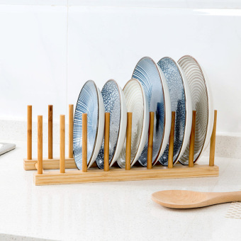 Multi-functional cup holder dish rack
