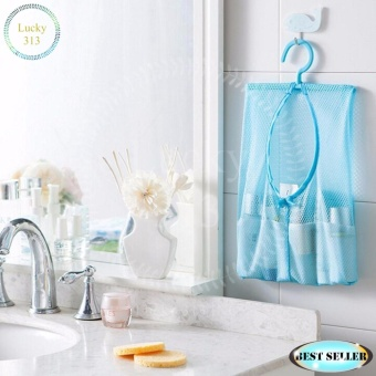 Multi Purpose Hanging Storage Bag Blue