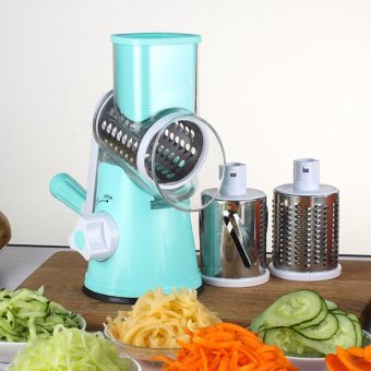 Multi-Use Vegetable Cutter Manual Mandoline Slicer Potato JulienneCarrot Slicer - intl