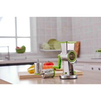 Multifunctional Kitchen Grater mill Vegetable Spiral SlicerShredder Twister - intl