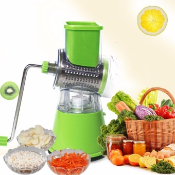 Multifunctional Manual Vegetable Spiral Slicer Chopper Mandoline Slicer Cheese Grater Clever Vegetable Cutter Kitchen Tools - intl