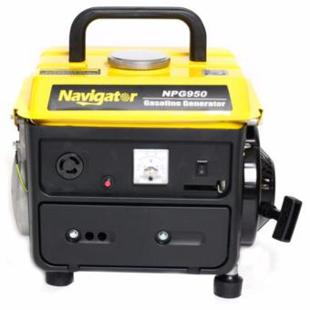 Navigator NV-NPG950 2HP Single Cylinder 2-Stroke OHV Gasoline Generator (Yellow)