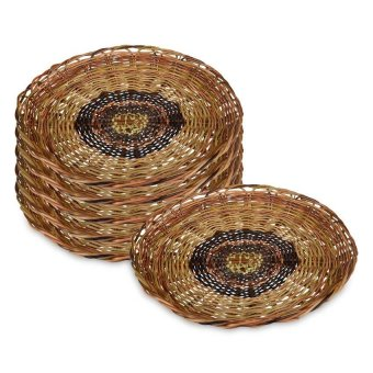 Netivo Nito Plate, Set of 6 (Brown) - picture 1