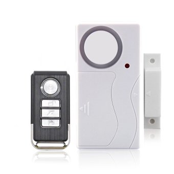 New 110dB Wireless Home Door Window Burglar Safety Security ALARMSystem Magnetic Sensor Remote Control