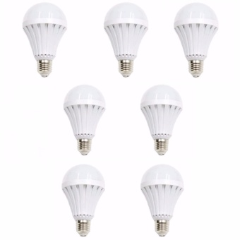 New 12 Watts Intelligent Emergency Led Bulb Magic Bulb Set of 7