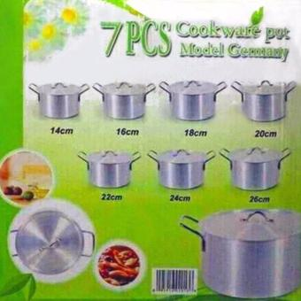 New 2017 Best Home Best Quality Aluminum 7pcs Cooking Pot