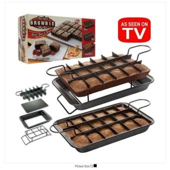 New 2017 Best Quality Perfect Brownie Pan Set (Black)
