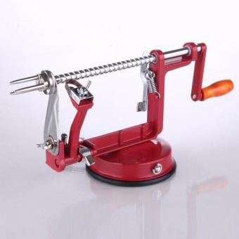 New Arrival Stainless Steel Fruit Peeler Apple Peeler SlicingMachine Vegetable Potato Slicer Cutter Kitchen Tool - intl