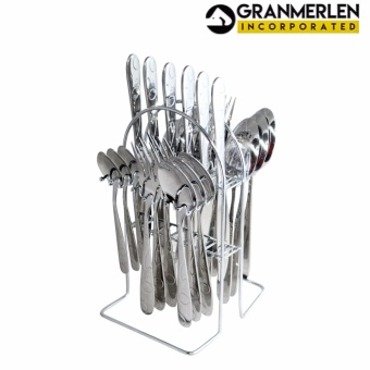 New Cutlery Set Spoon, Fork, Knife and Teaspoon - 24 Piece in a Set - 3