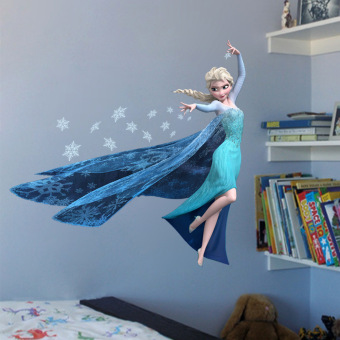 New Fashion DIY FROZEN Wall Stickers Decal Removable Decor RoomMural - intl