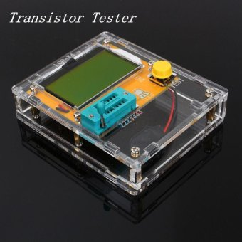 New LCR-T4 Mega328 Transistor Tester Diode Triode Capacitance ESR Meter With Shell - intl