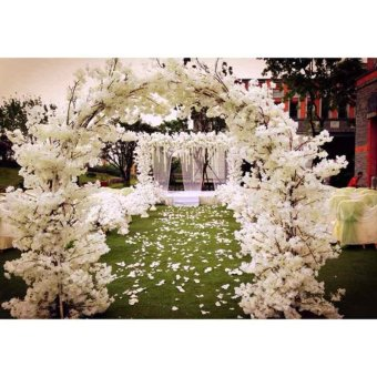 New Simulation artificial cherry blossom party supplies wedding cardecoration - intl Price Philippines