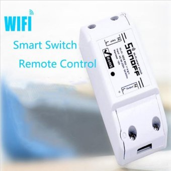 New Sonoff DIY Remote Wireless Switch Universal Module Wifi SwitchTimer controlled by phone App for Smart Home Automation - intl - 2