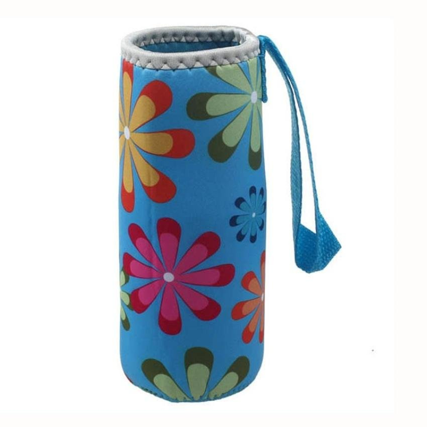 New Warm Heat Insulation 500Ml Water Bottle Thermos Cup Bag (Blue) - intl product preview, discount at cheapest price